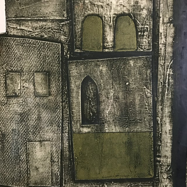 John Ross Architectural Collagraph - Image 7 of 10