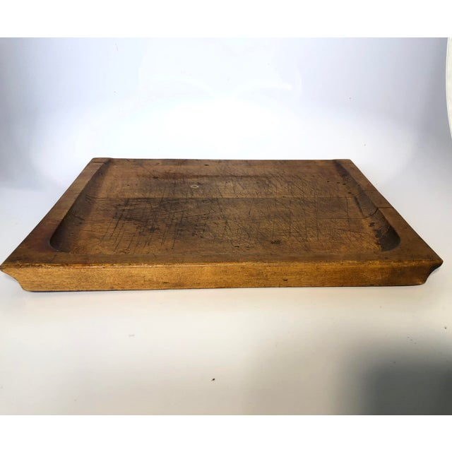 Antique Pastry/Noodle Bread Board For Sale - Image 4 of 6