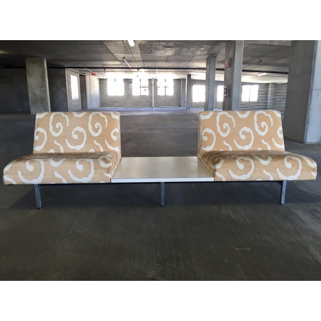 George Nelson Herman Miller Sofas With Center Tables - A Pair - Image 10 of 11