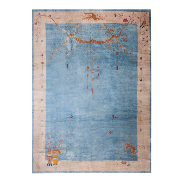 """Antique Chinese Art Deco Rug 12'0"""" X17'6"""" For Sale"""