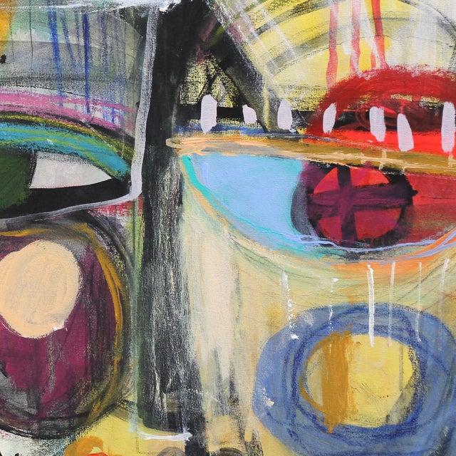 """Honey"" Original Mixed Media Artwork by Lesley Grainger For Sale - Image 4 of 8"