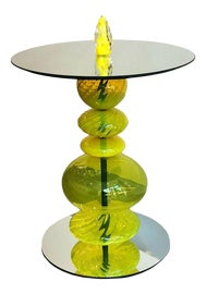 Image of Newly Made Yellow Side Tables