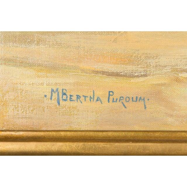"Mary Purdum ""Big White Flowers"" Painting - Image 8 of 10"