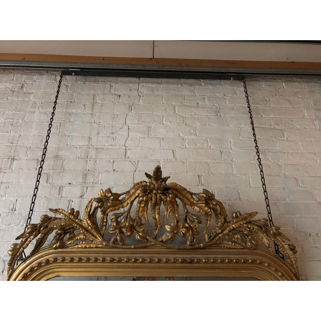 Boho Chic Elaborate Decorated 19th Century Mirror For Sale - Image 3 of 8
