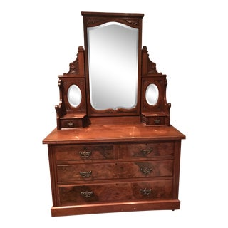 Antique English Traditional Dresser For Sale