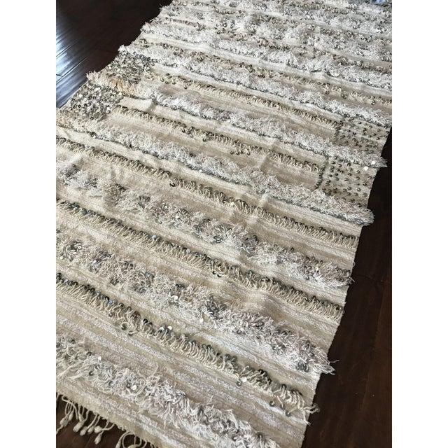 Sequined Moroccan Wedding Blanket Chairish