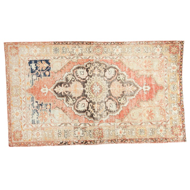 Vintage Oushak Carpet - 4′10″ × 8′2″ For Sale
