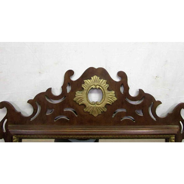 Antique Decorative Wall Mirror For Sale - Image 4 of 8