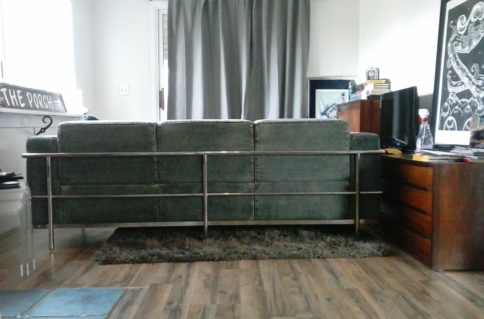 Zuo Modern Lasso Denim Sofa   Image 2 Of 6