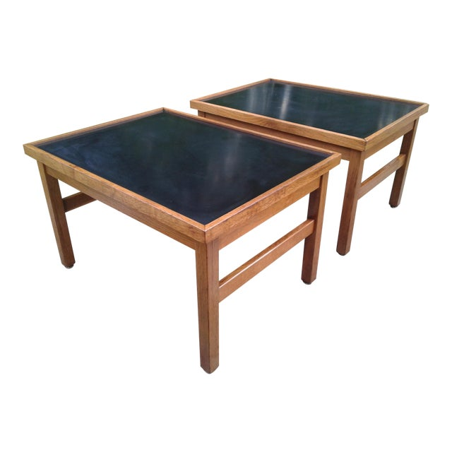 Mid-Century Modern Side Tables - A Pair - Image 1 of 7