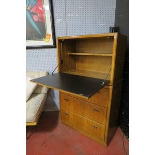 Vintage Mid Century Modern Drexel Secretary Desk/Dry Bar Preview