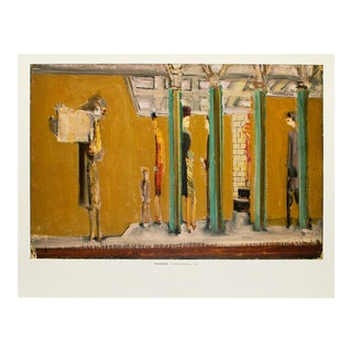 """2003 After Mark Rothko """"Untitled (Subway)"""" Poster For Sale"""