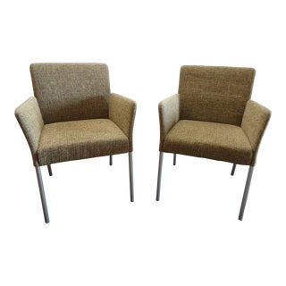 Coalesse by Steelcase Modern Switch Armchairs - A Pair