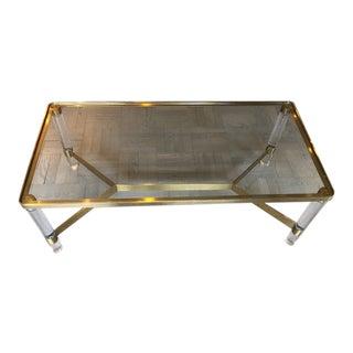 Modern Safavieh Acrylic Coffee Table For Sale