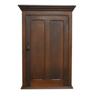 1890 Antique Hanging Apothecary Spice Cabinet For Sale