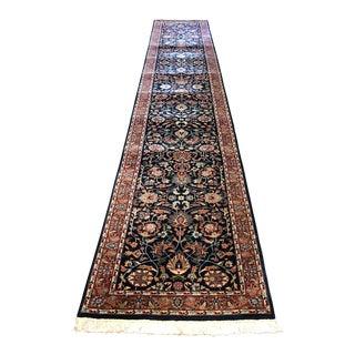 Persian Kashan Long Runner - 2′8″ × 16′