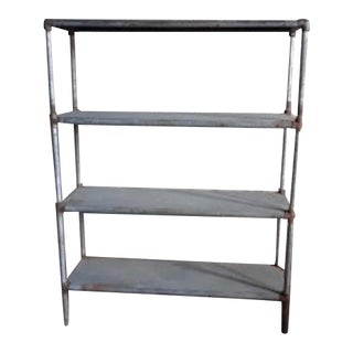 Four Shelf Display Case For Sale