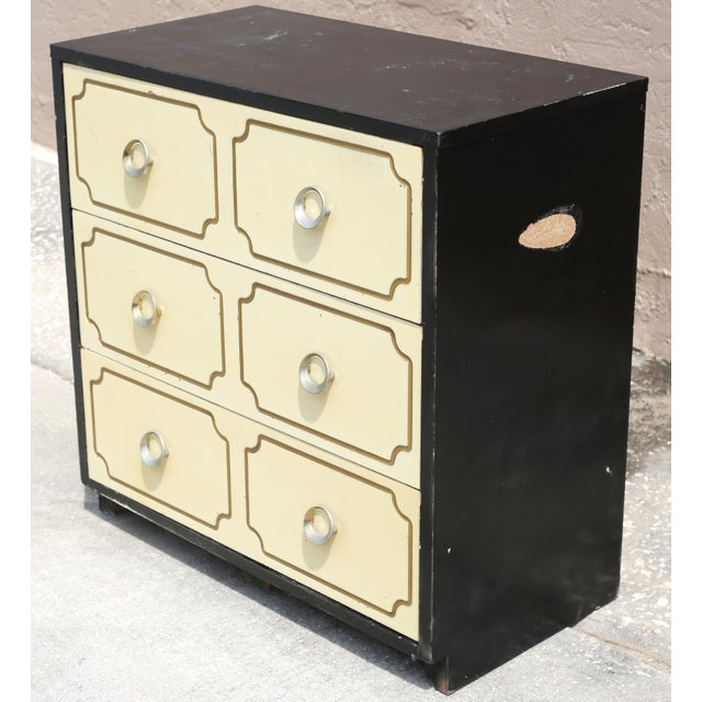 Vintage Hollywood Regency Dorothy Draper Espana Style Hollywood Regency Chest For Sale In Tampa - Image 6 of 13