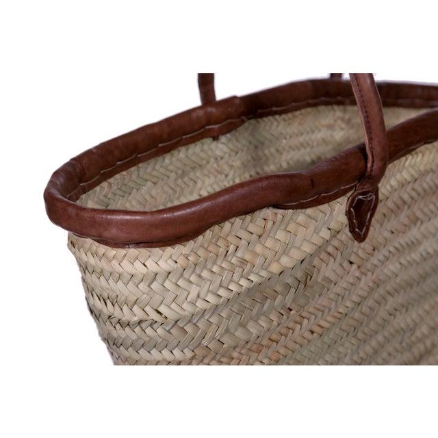Islamic Berber Woven Market Basket For Sale - Image 3 of 3