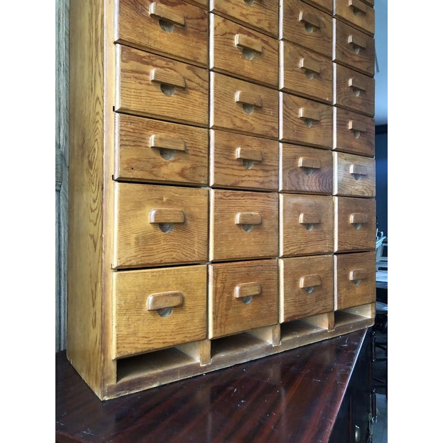 Antique Multi Drawer Cabinet For Sale - Image 4 of 11