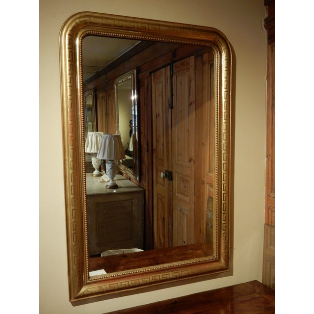 Early 19th Century 19th C. Louis Philippe Mirror For Sale - Image 5 of 5
