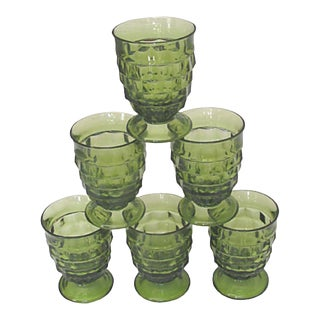 1960s Midcentury Colony Glasses, Set of 6 For Sale