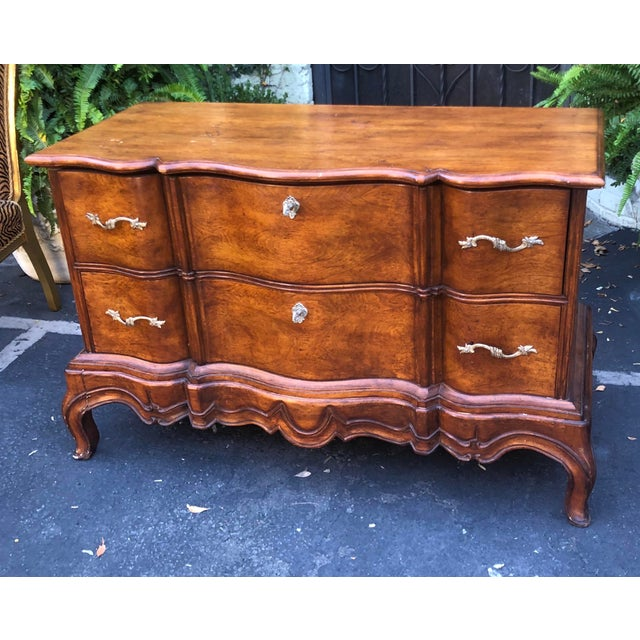 Wood Charles Pollock Spanish Colonial Chest on Stand Commode For Sale - Image 7 of 7