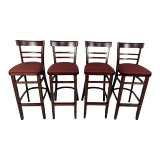 Vintage Modern Bar Stools - Set of 4 For Sale
