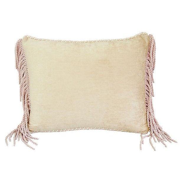 Designer Schumacher Chinese Vase & Silk Pillow - Image 5 of 6