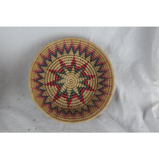 Mid 20th Century Ghanian Tribal Basket For Sale - Image 5 of 6