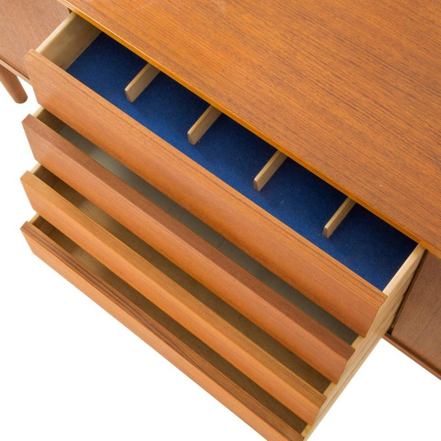 Nils Jonsson Danish Modern Louvered Credenza - Image 6 of 10