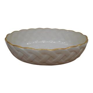 1980s Vintage Lenox Decorative Bowl For Sale