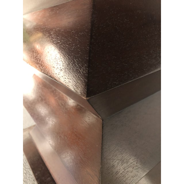 """Wood Michael Berman """"Lombard"""" Dining Table For Sale - Image 7 of 10"""