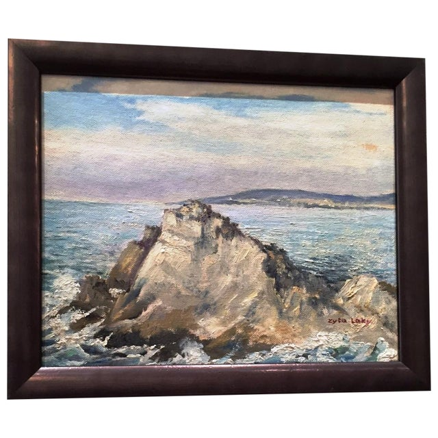 Zyta Laky Seascape Painting