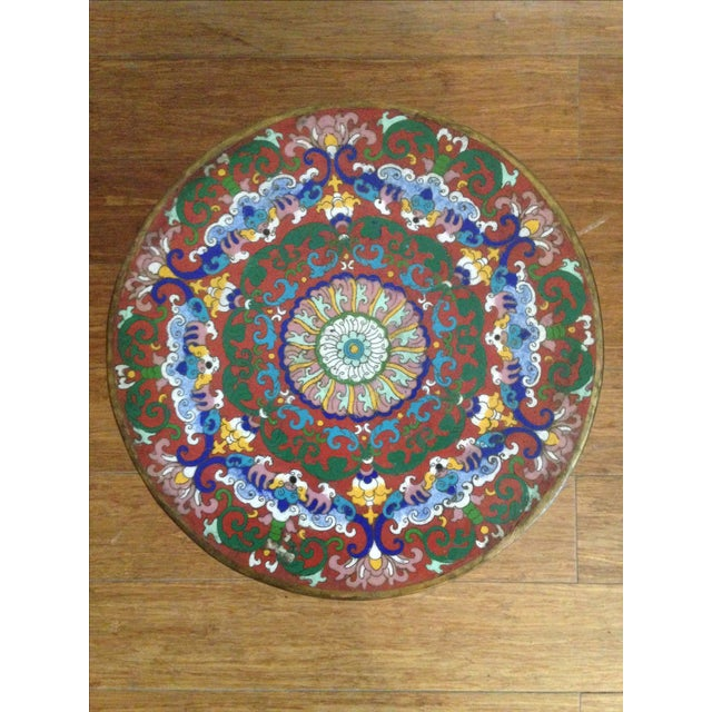 19th Century Chinese Cloisonne Garden Stool - Image 5 of 7