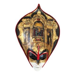 Venetian Laboratory - Painted Venetian Mask For Sale