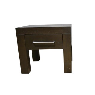 Contemporary Ebony Side Tables | Nightstands For Sale