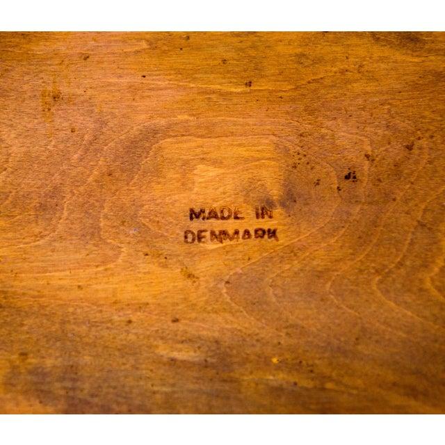 Set of Six Danish Teak Dining Chairs, Arne Hovmand Olsen For Sale - Image 12 of 13