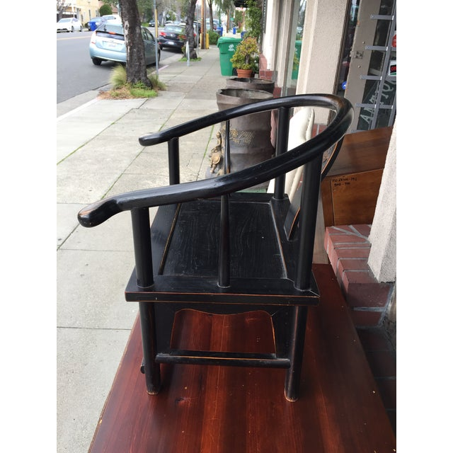 Chinese Horshoe Child's Chair - Image 4 of 6