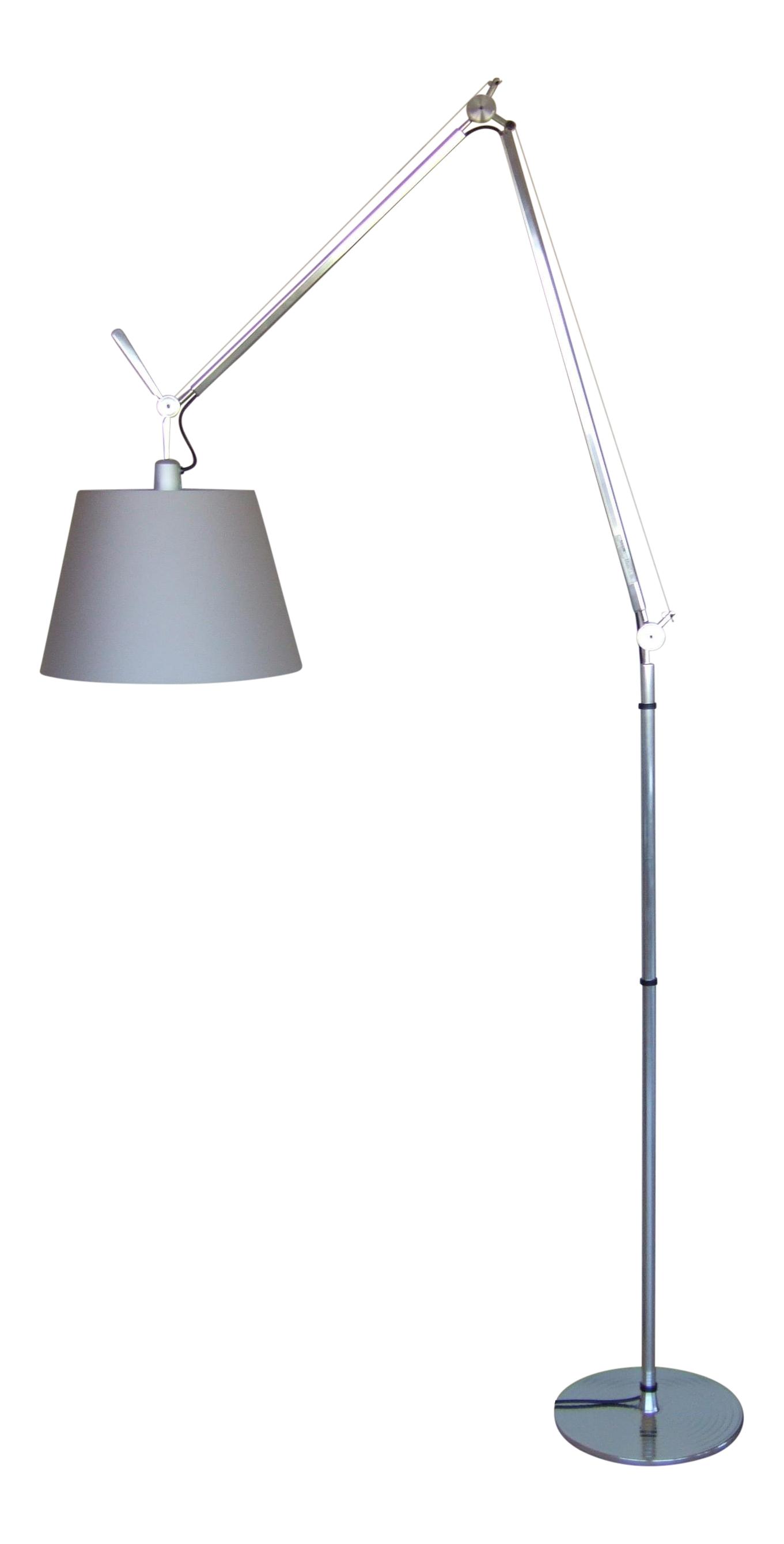Artemide Tolomeo Mega Floor Lamp Shade Chairish