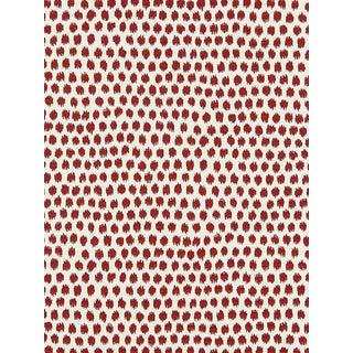 Scalamandre Dot Weave, Carnelian Fabric For Sale