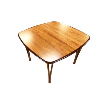 1960's Haslev Mobler Danish Expandable Dining Table