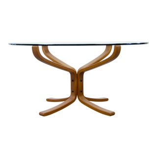 Vatne Møbler 'Falcon' Coffee Table by Sigurd Ressel For Sale