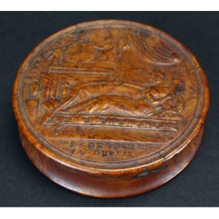 19th Century Empire French Pressed Wood Snuff Box Preview