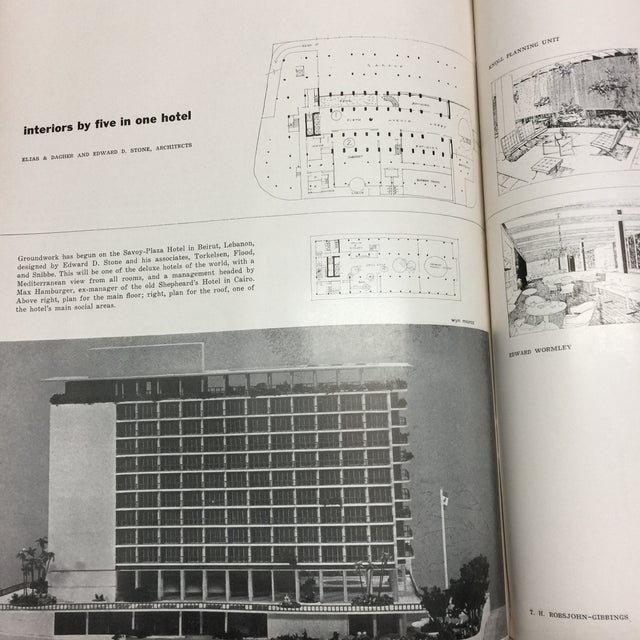 1950s Vintage Interiors Architecture Magazine For Sale - Image 9 of 12
