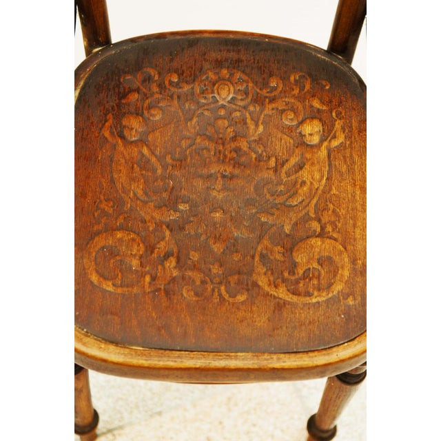 Traditional Austrian bentwood chair For Sale - Image 3 of 11