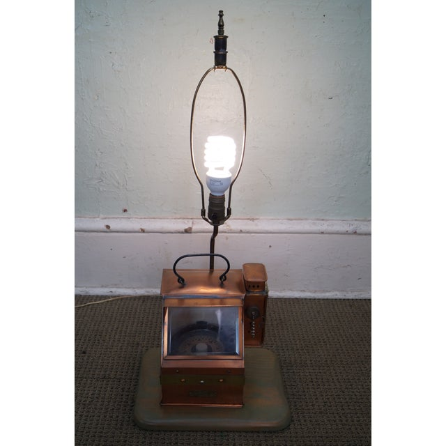 The Lionel Corp. US Navy Binnacle Compass Lamp