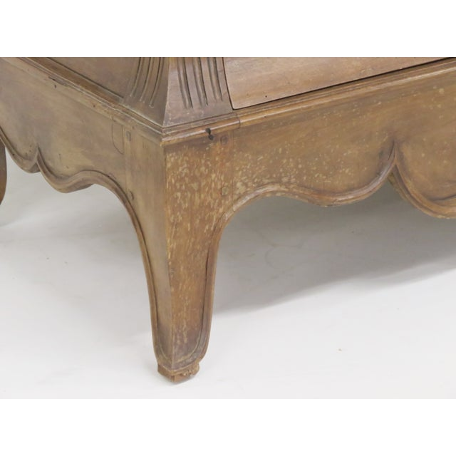 Antique Custom Carved French Marbletop Commode - Image 3 of 6