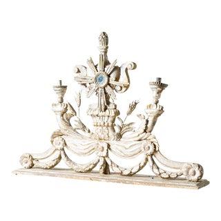 1800s Antique Baroque Candelabra For Sale
