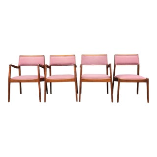 Jens Risom for Jens Risom Designs Midcentury Playboy Chairs - Set of 4 For Sale